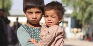 Hjälp Afghanistans barn. Ge en gåva nu.