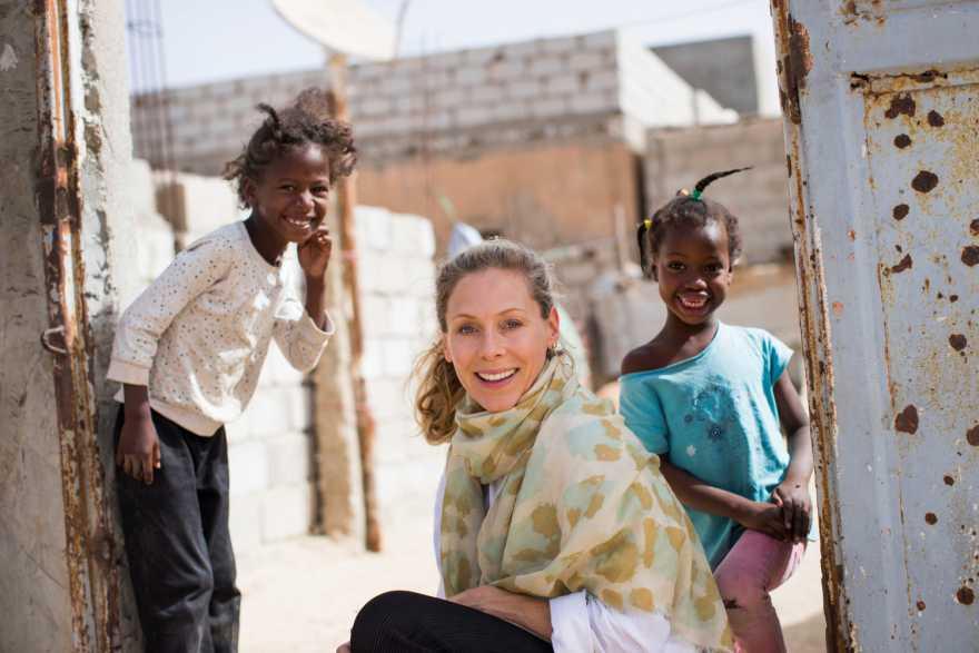 Eva Röse är UNICEF-ambassadör sedan 2007
