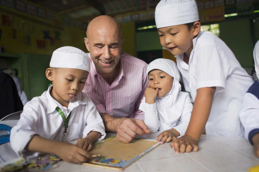 Mark Levengood är UNICEF-ambassadör sedan 2008.
