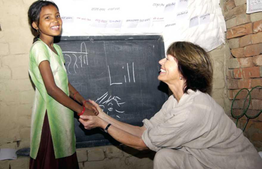 Lill Lindfors är UNICEF-ambassadör sedan 1998.